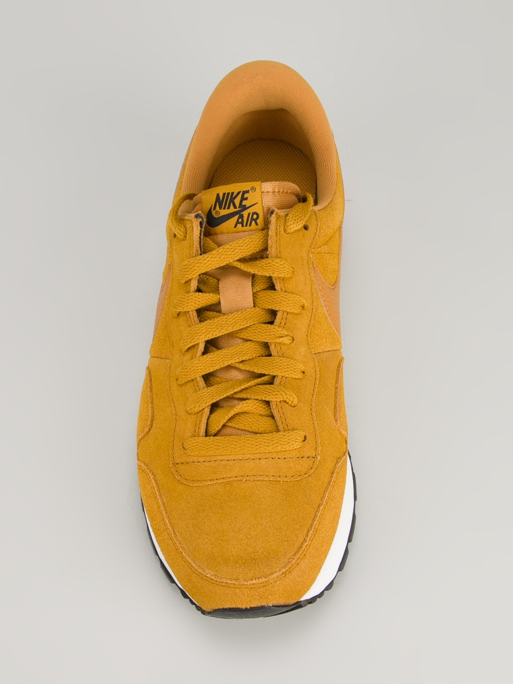 newest 99fc6 6fb7c Lyst - Nike Air Pegasus 83 Suede Trainer in Yellow for Men