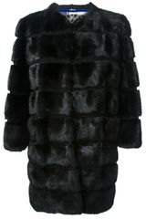 Simonetta Ravizza Fox Fur Coat - Lyst
