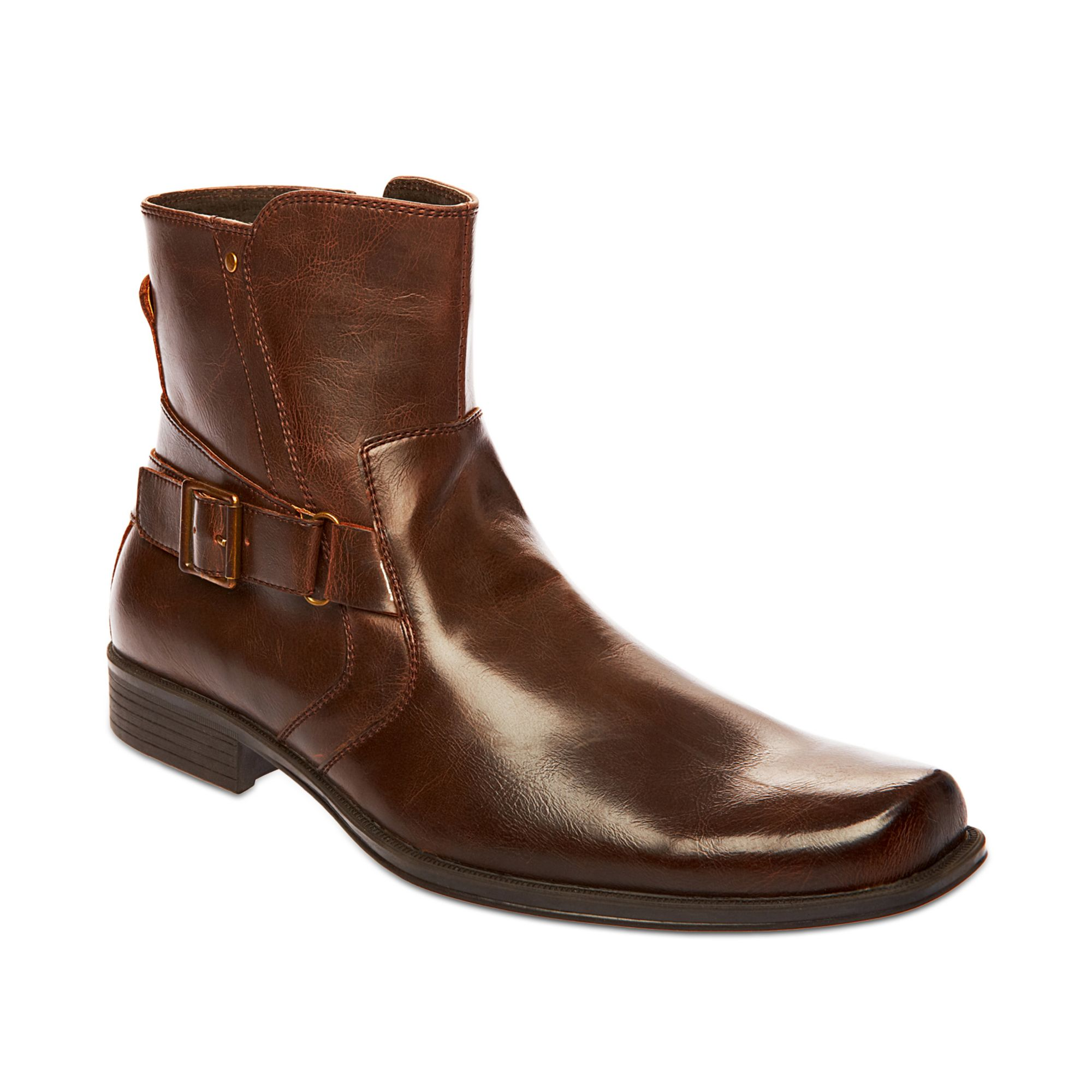 steve madden madden mens shoes boost boots in brown for