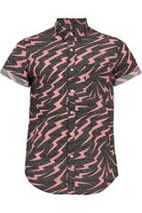 Topman Short Sleeve Shirt - Lyst