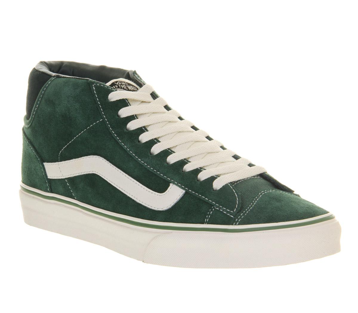 61d27460ca Vans Mid Skool 77 in Green for Men - Lyst