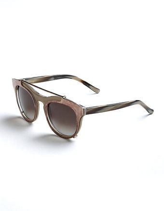 Vera Wang Miela Butterfly Sunglasses with Clipon Plate - Lyst
