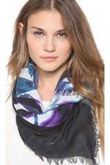 Cut25 By Yigal Azrouël Mysterious Fence Scarf - Lyst