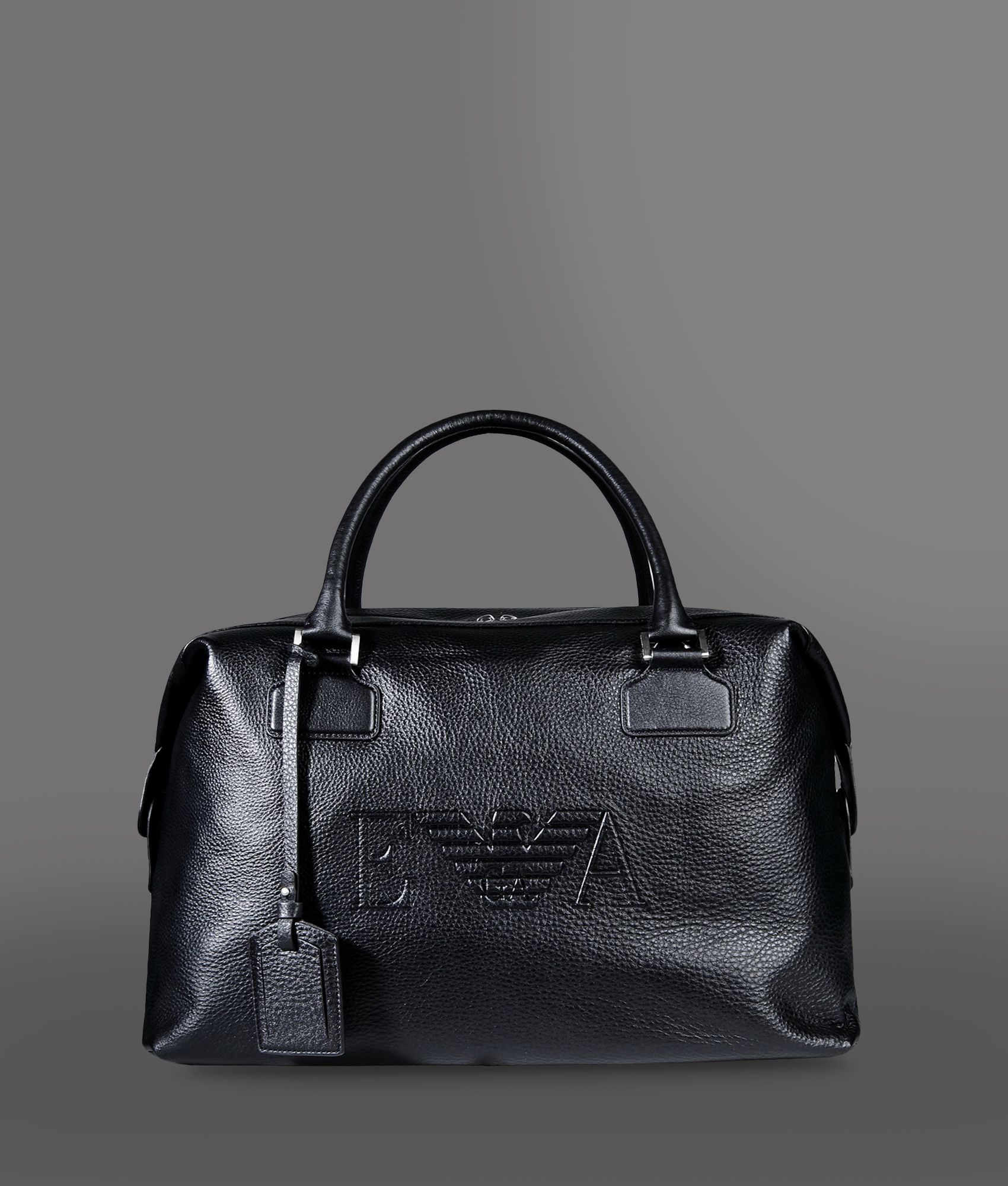 Lyst - Emporio Armani Travel Bag in Black for Men c3cec00ed3829
