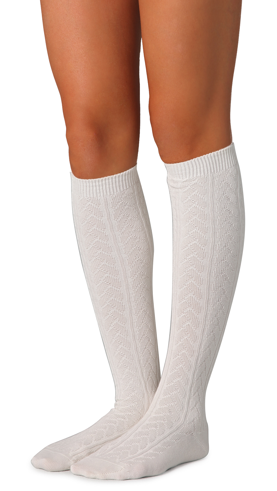 Leave a lasting impression with black paw prints on your white knee socks or wear your personal hobby or passion with pride. Whether you are a cheerleader, music student, wine, or sweet lover, there is a fantastic pair of socks waiting in the section below for you.