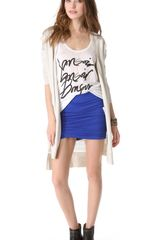 Free People Essential Scrunch Miniskirt - Lyst