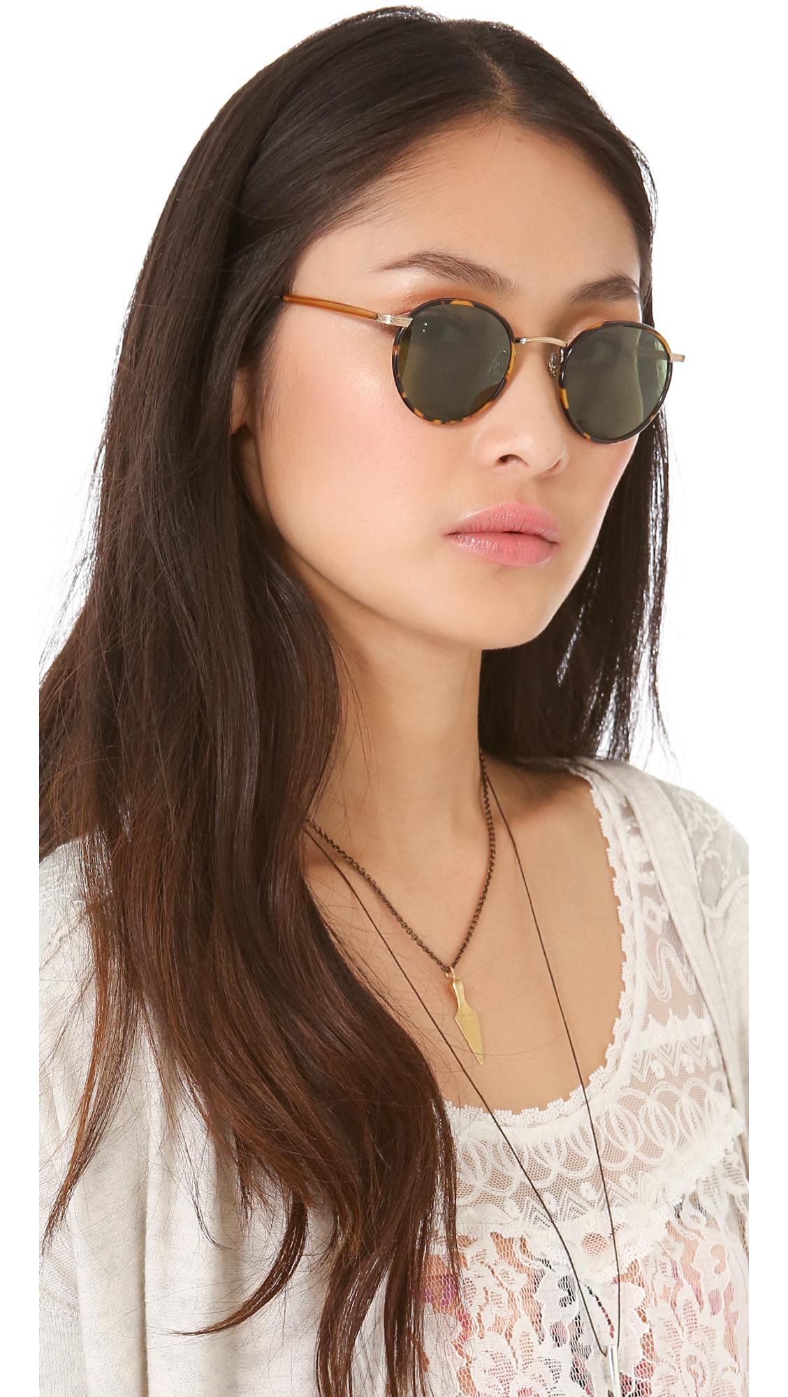 Wilson round-frame sunglasses Garrett Leight LhE9kiAYj