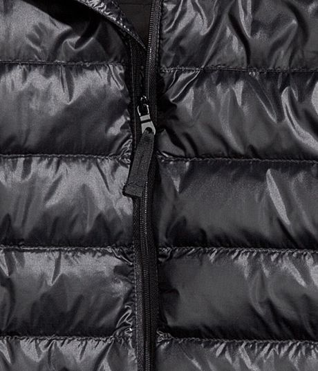 H&m Down Jacket in Black