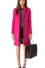 Joseph Man Long Wool Coat - Lyst