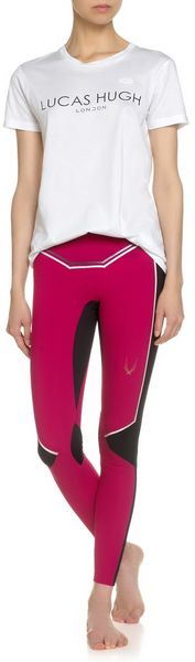 Lucas Hugh Plum Aelita Leggings - Lyst