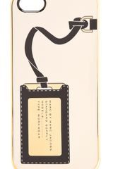 Marc By Marc Jacobs Metallic Heathrow Iphone 5 Case - Lyst