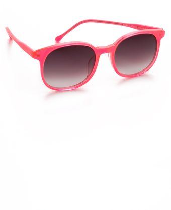 Matthew Williamson Round Sunglasses - Lyst