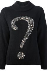 Moschino Cheap & Chic Knitted Sweater - Lyst