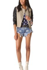 One Teaspoon Crest Rollers Shorts - Lyst