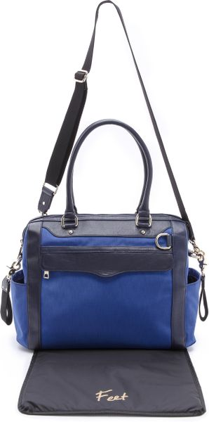 Rebecca Minkoff Knocked Up Baby Bag in Blue (Royal)