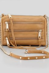 Rebecca Minkoff Fivezip Mini Crossbody Bag Tawny - Lyst