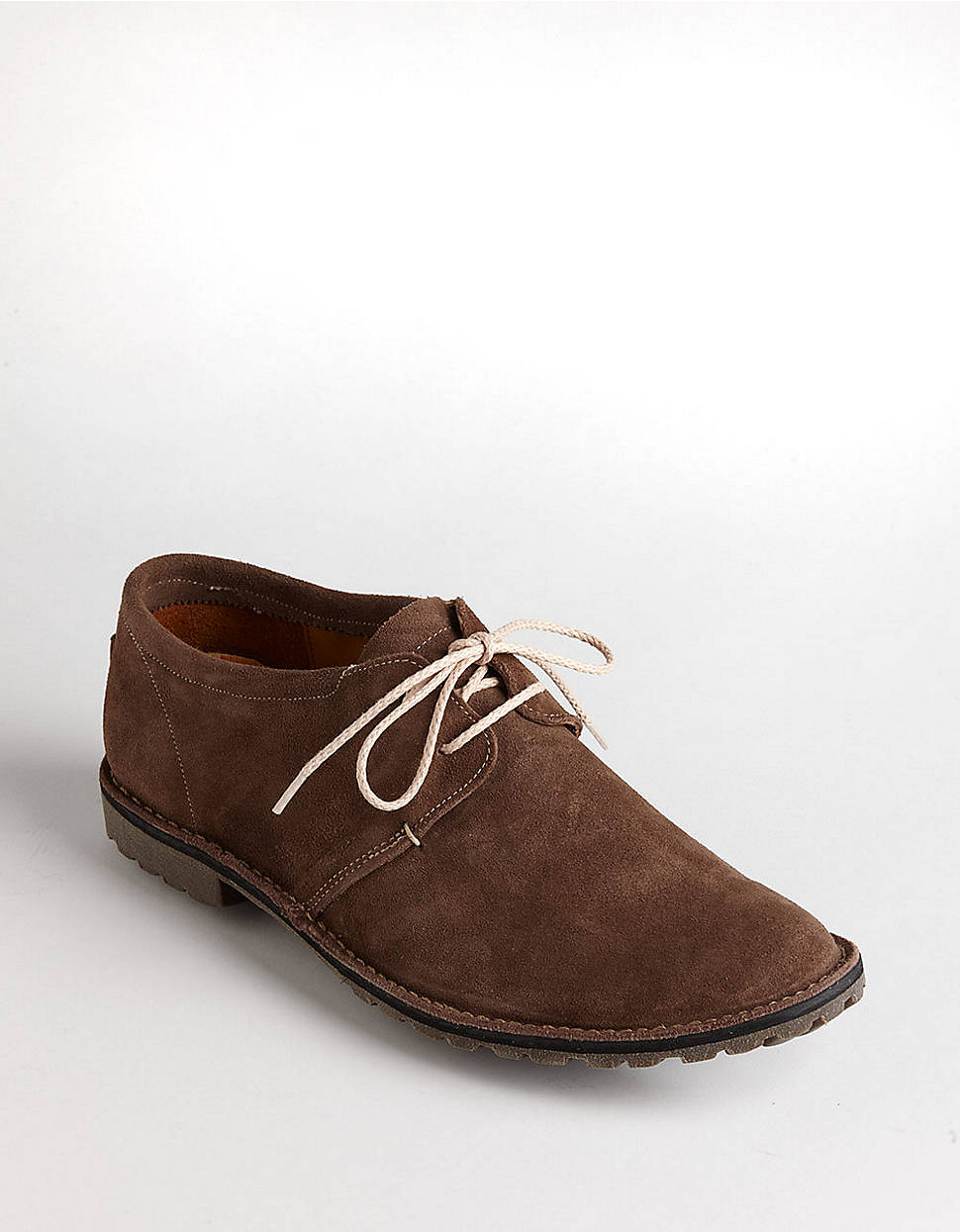 timberland leather laceup dress shoes in brown for lyst