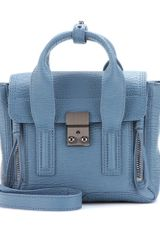 3.1 Phillip Lim Pashli Mini Leather Trapeze Bag - Lyst