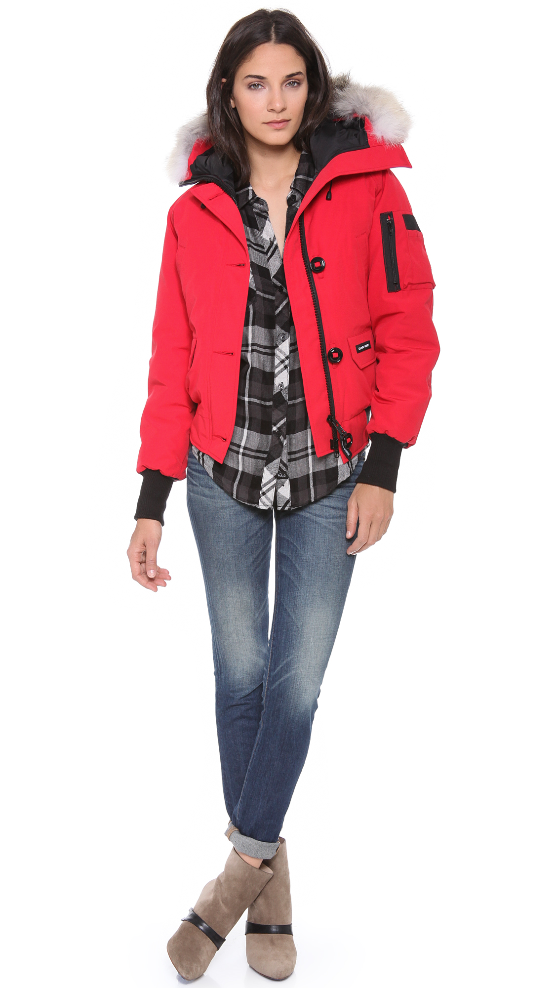cf0c6c7e65e8 Gallery. Previously sold at  Shopbop · Women s Canada Goose Chilliwack  Women s Red ...