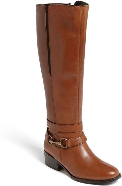 carvela kurt geiger willow boot in brown lyst