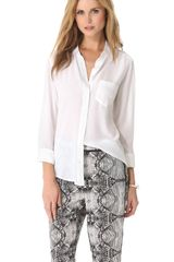 Equipment Brett Shirt - Lyst