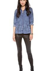 Free People Dottie Over You Top - Lyst