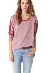 Free People Colorblock Top - Lyst