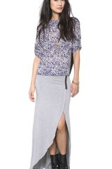 House Of Harlow Harper Skirt - Lyst