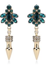 Mawi Spike Crystal Earrings - Lyst