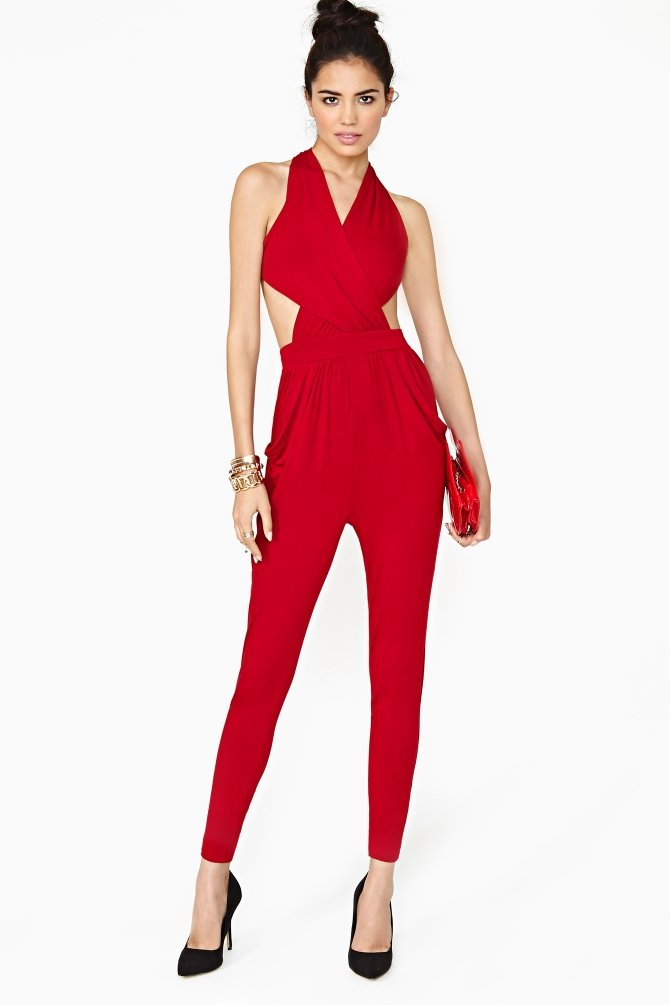 dbad96edee3e Red Jumpsuit For Women - Trendy Clothes