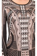 Temperley London Sphynx Knit Pencil Dress - Lyst