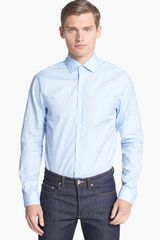 Burberry Tailored Fit Dress Shirt - Lyst