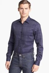 Burberry Treyforth Tailored Fit Check Shirt - Lyst
