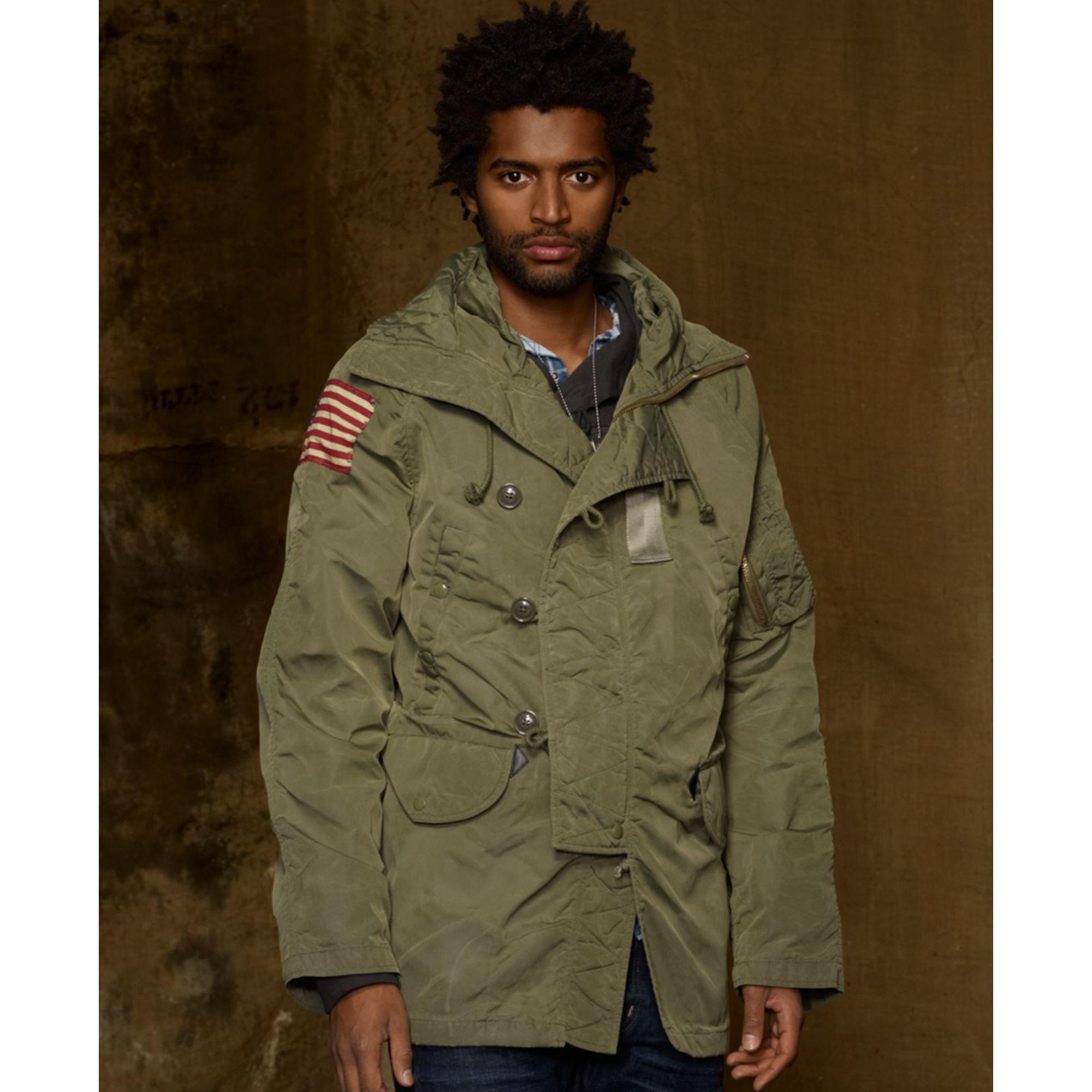 Lyst - Denim   Supply Ralph Lauren Down Snorkel Jacket in Green for Men 176be879c728
