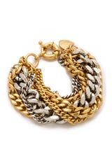 Giles & Brother Large Multi Chain Bracelet - Lyst