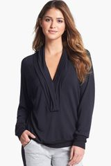 Hermosa By Christina E. Shawl Collar Top - Lyst