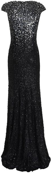 Jenny Packham Degrade Sequin Gown - Lyst