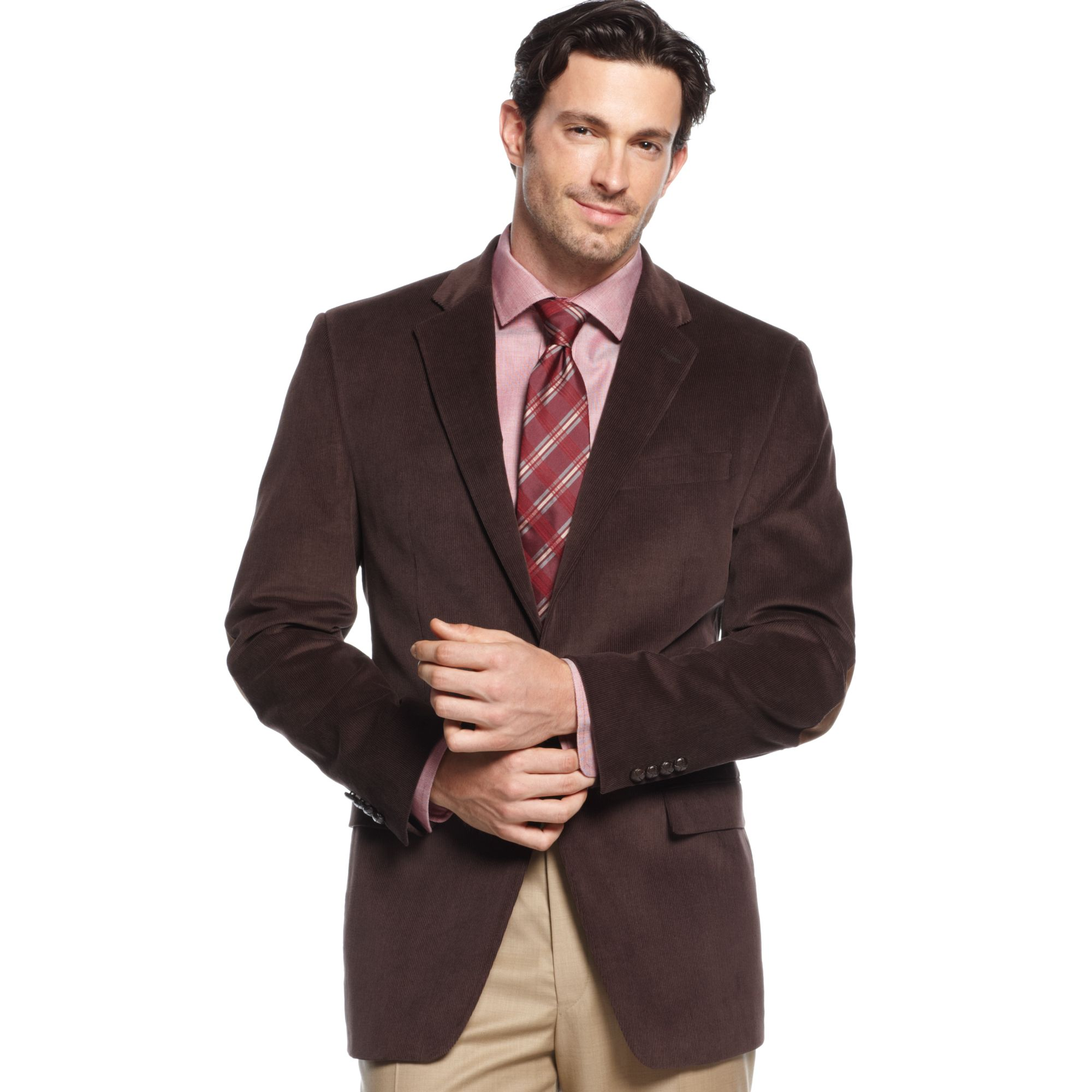 Lauren by ralph lauren Jacket Corduroy Sportcoat with Elbow ...