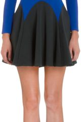 Mason by Michelle Mason Long Sleeve Flare Dress - Lyst