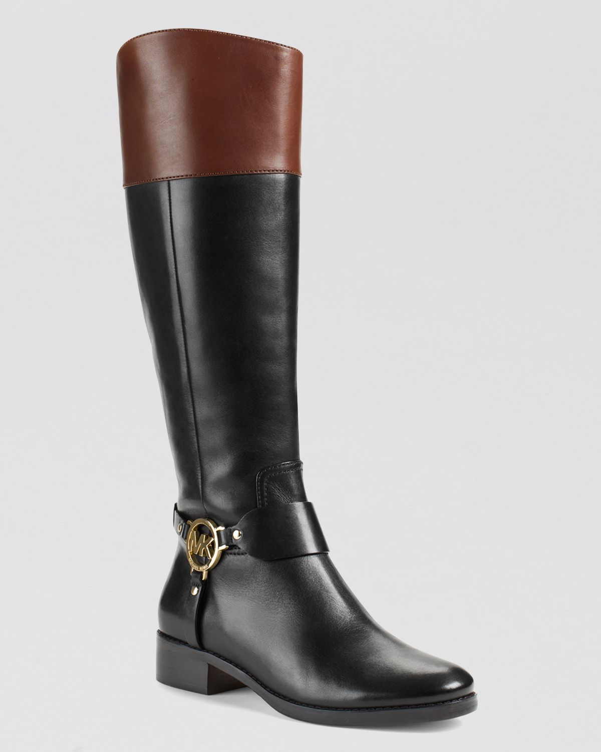 michael michael kors harness boots fulton in brown