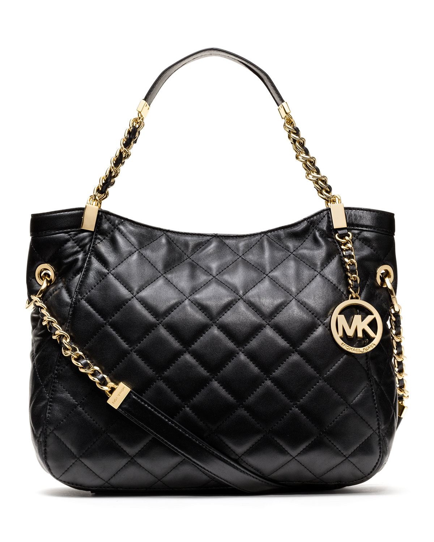 Michael Kors Michael Medium Susannah Quilted Shoulder Bag