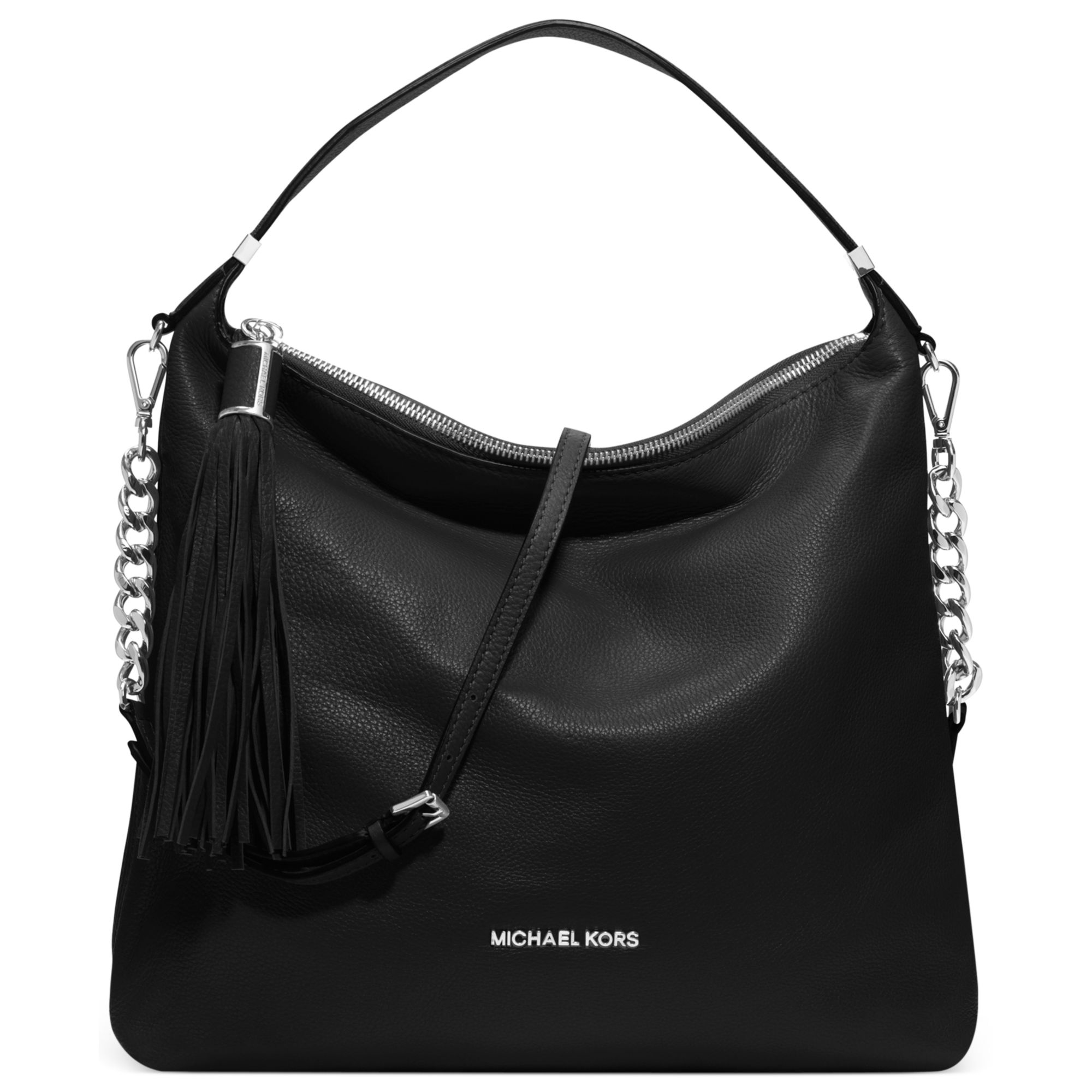 Lyst Michael Kors Mia French Calf Envelope Shoulder Bag In Black