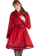 ModCloth A Welcomed Moment Coat - Lyst