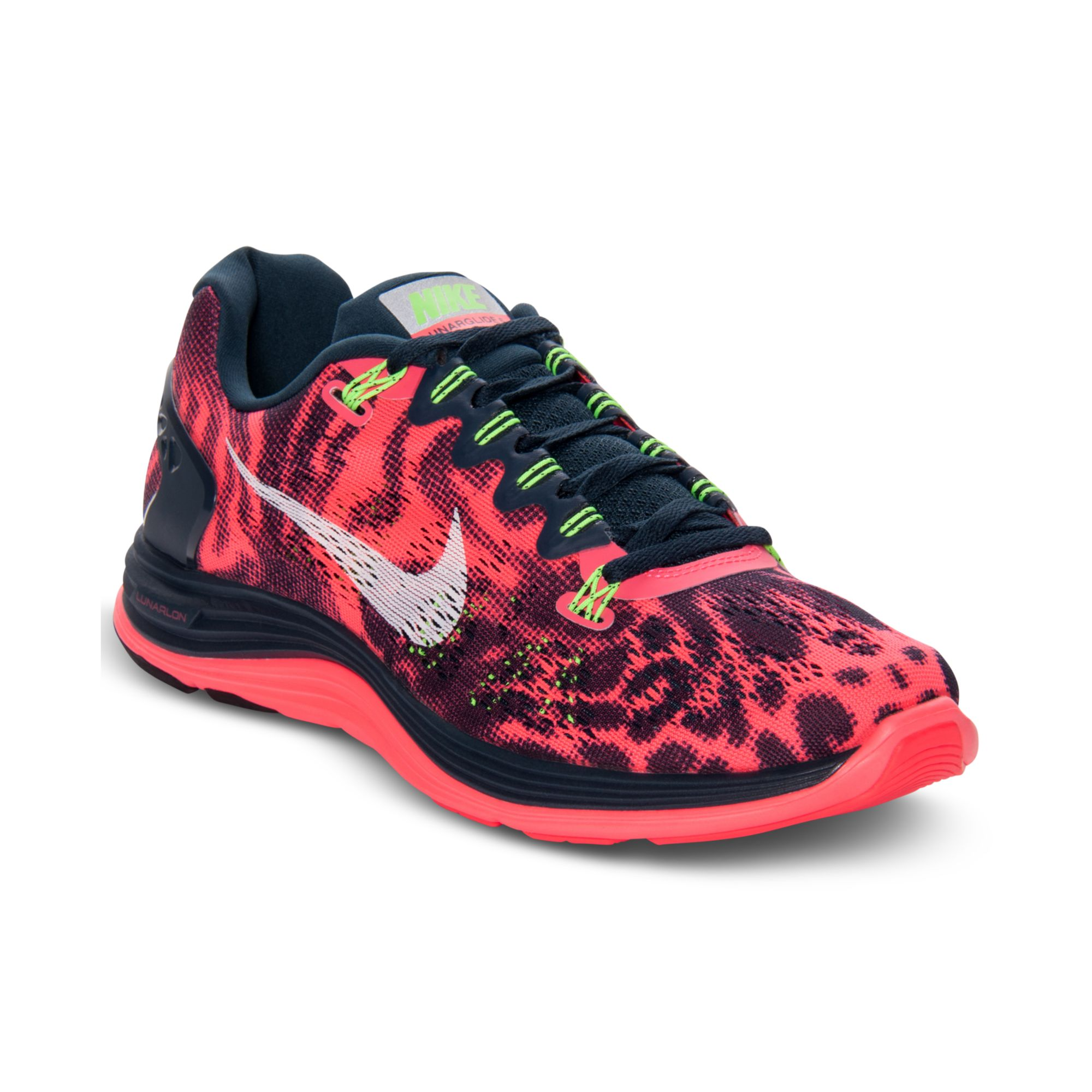 7b2ea69177c ... low cost lyst nike lunarglide 5 graphic running sneakers in pink for men  3e470 e416e