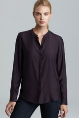 Nydj Matte Button Down Shirt - Lyst