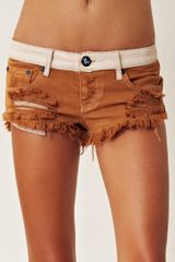 One Teaspoon Trashwhore Shorts - Lyst
