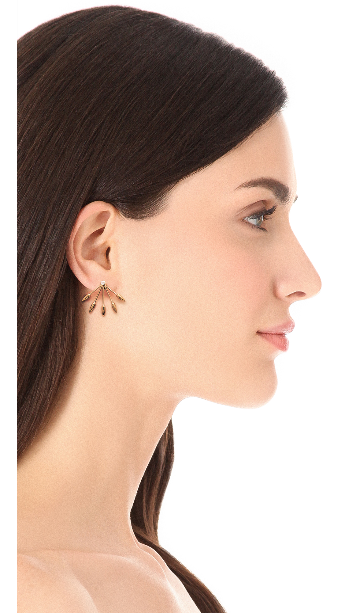 Pamela Love 5 Spike Earrings Uk Best All Earring Photos