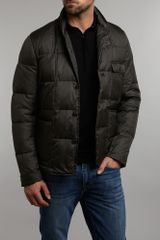 Paul Smith Quilted Puffa Jacket in Green for Men - Lyst
