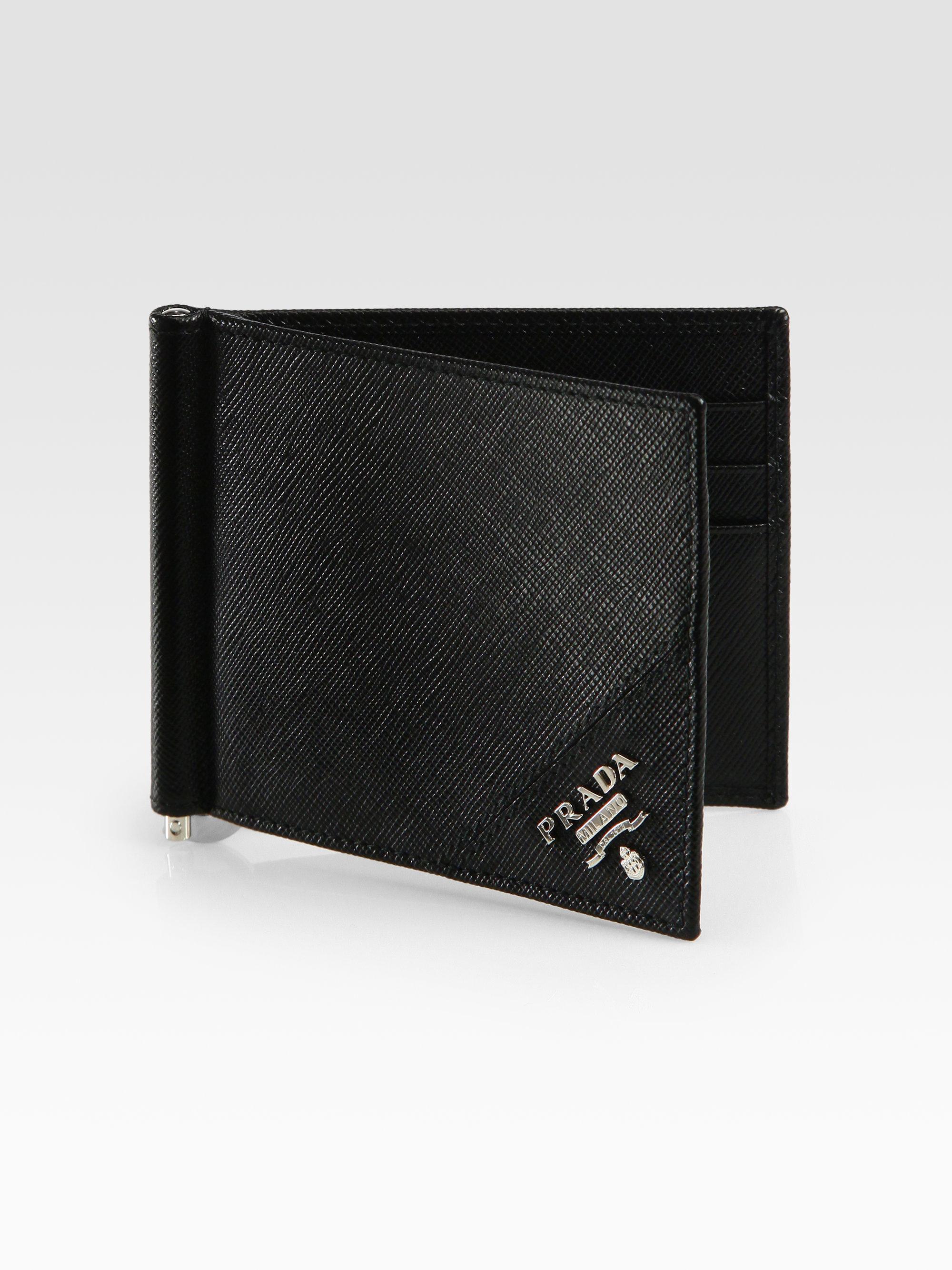 f8dc7b4fbee983 spain prada money clip wallet for men cc8a4 5c78e