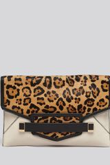 Rafe New York Clutch Sarina Oversize Envelope - Lyst